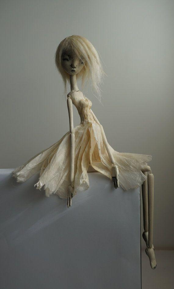 S silences Shizumi ...ooak art doll by burymebaubles on Etsy