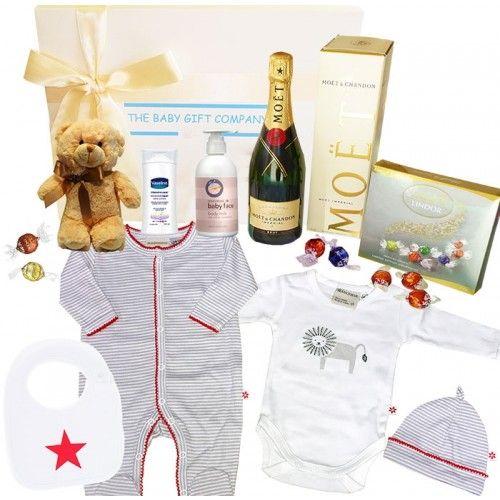 Congratulations Baby Gift Basket