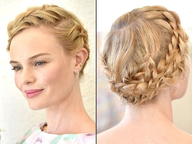 Celebs' Hot Braided Hairstyles on the Red Carpet