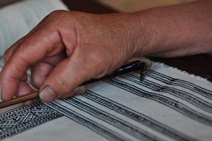 Hmong Batik Art