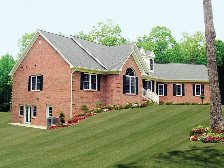 243 Best Home Plans With Great Curb Appeal Images On