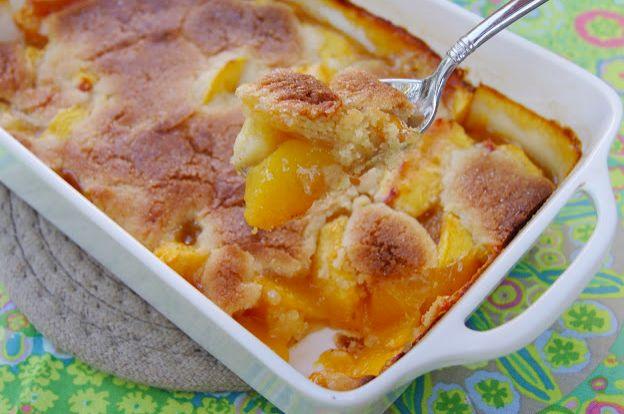 Brandied Peach Cobbler | Desserts | Pinterest