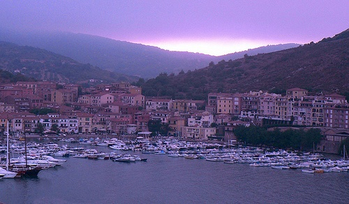sunset over #PortoErcole, #Maremma