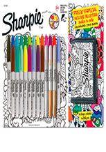 Útiles escolares: Marcador Sharpie x 24 + billetera , Sharpie, Marcadores