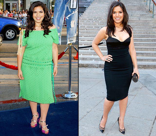 America Ferrera - Celebrity weight loss photos