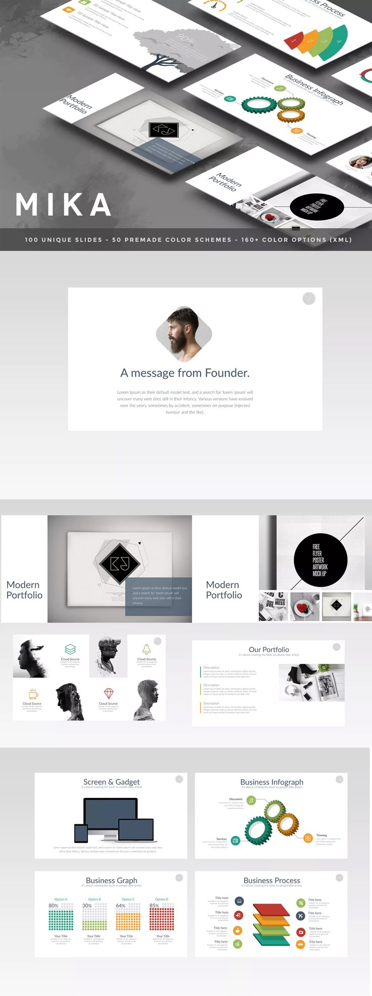 222 best powerpoint presentation templates images on pinterest, Presentation templates