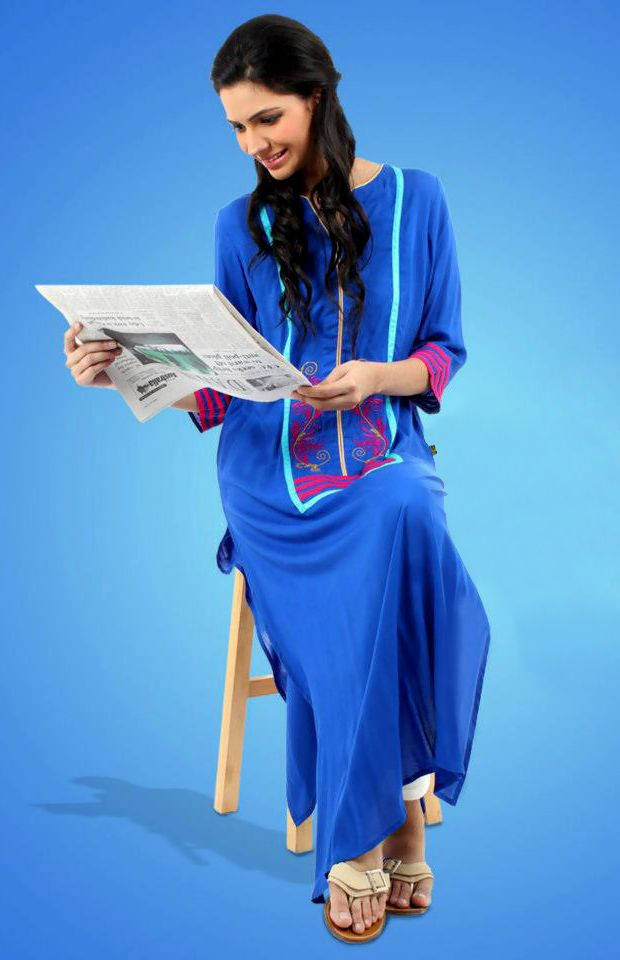 Price :- INR 2000  Design No. : UE263  Product Page :- http://www.unnatiexports.com/design/closeup/women-party-wear-kurtis-a-5-b-2.html