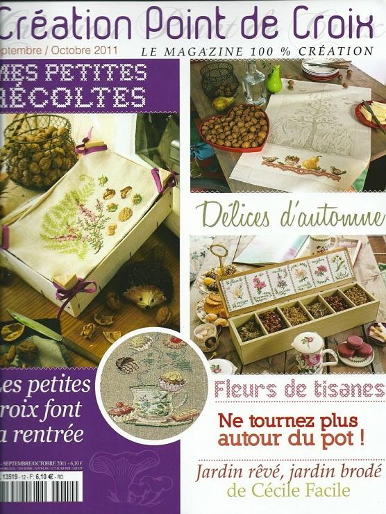 'Creation Point de Croix' /September-October 2011/ - autumn patterns