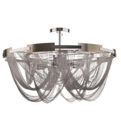 Plafon ROMA C08529CH  Jesteś urzeczony współczesnym designem Rzymu? Klasyka w połączeniu z nowoczesnością musi robić wrażenie! Właśnie dlatego lampy marki CosmoLight honorowo noszą nazwę miasta, które udowadnia, że połączenie tradycji, klasyki, nowoczesnego designu i najnowszych trendów jest możliwe!