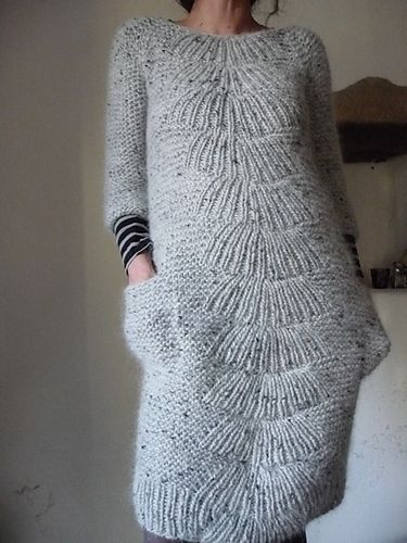 On Knitted Bliss's Modification Monday - Looks great on her, wouldn't suit my shape though.