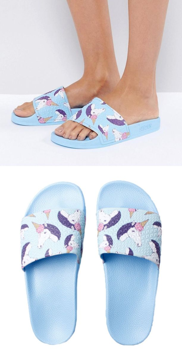 These Unicorn Slydes are perfect for the Summer!