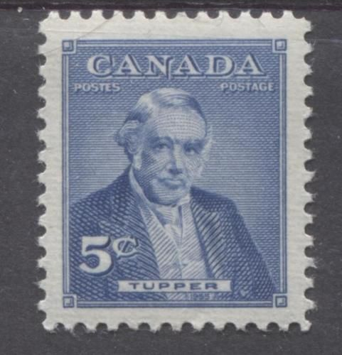 Sir Charles Tupper - Prime minister for only a few months in 1896. Issued in 1956 as part of a five year series featuring Canada's prime ministers.