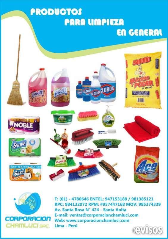 Artículos de limpieza en general, papel higienico  ATENCIÓN AL CLIENTE:  Teléfono: 01 ? 4780646 Entel: 981385121 / 947153188 Movistar: 985374339  RPM: ...  http://lima-city.evisos.com.pe/articulos-de-limpieza-en-general-papel-higienico-id-604996