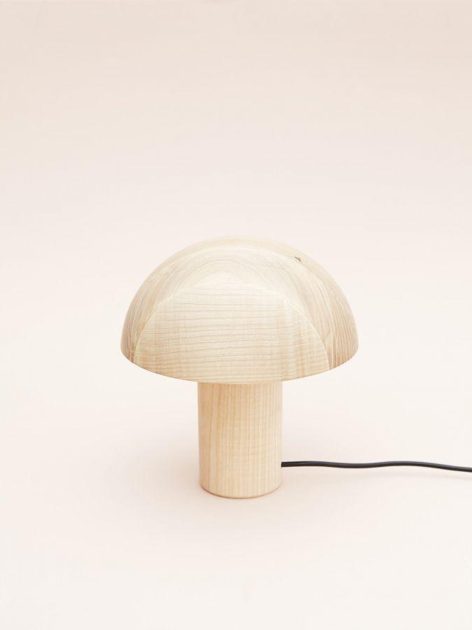 Mushroom lamp, by Maria Jeglińska