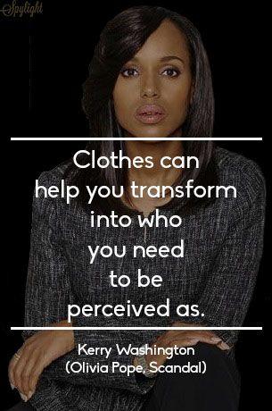 Kerry Washington | Olivia Pope #Scandal #Fashion #Quote