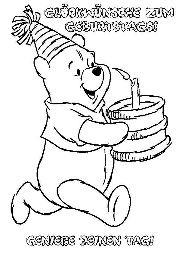 Ausmalbilder Geburtstag 14 Kostenlose Ausmalbilder Zeichnung