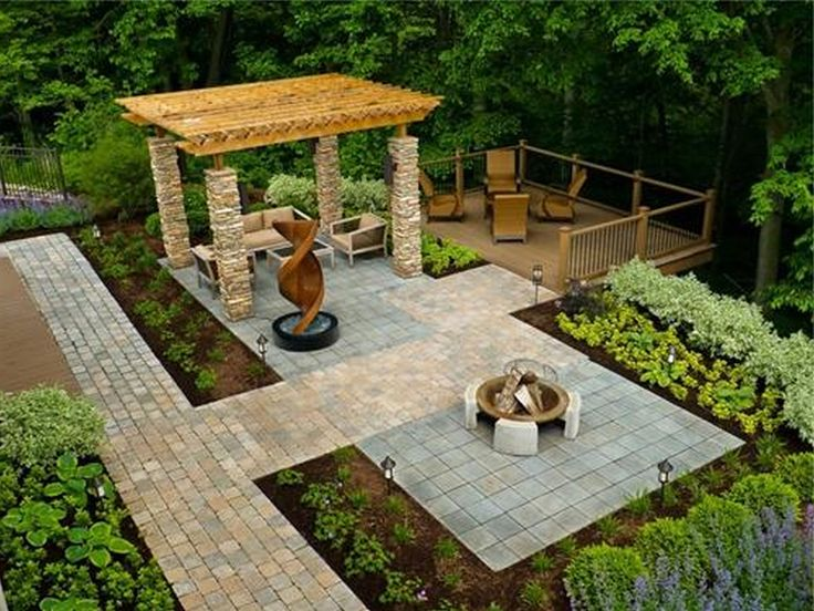 Easy On The Eye Backyard Gardens Structure Lovely Cool Backyard Designs  Winning Things Impression, Wheelchair Accessible Backyard The Cornerstone  Landscape ...