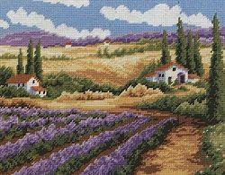 Lavender Fields Tapestry Kit 1320.6152