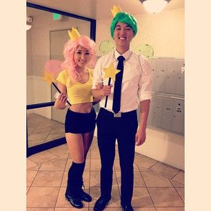 Cosmo and Wanda | 41 Two-Person Costumes That Will Up Your Halloween Game