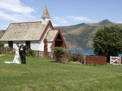 Akaroa Wedding - Onuku Church Akaroa