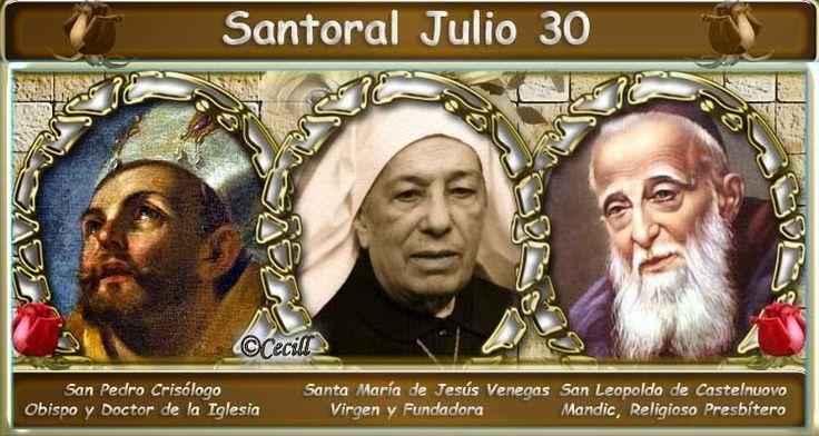 Vidas Santas: Santoral Julio 30