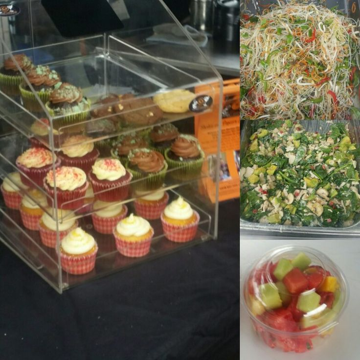 Freshly baked yummies, and some delishious salads. These were from the archery nationals in morwell. Made by Kaitri's Catering Kaitriscatering@optusnet.com.au www.facebook.com/kaitriscatering