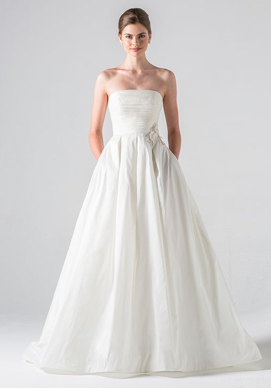 Blue Willow Bride by Anne Barge Clover Ball Gown Wedding Dress
