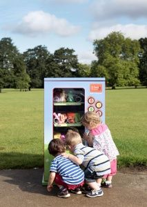 The world's first vending machine for babies, especially designed to dispense healthy snacks for tiny tots, has been revealed by the baby and toddler food experts - Ella's Kitchen. Potential Beverage Innovation Awards winner at Drinktec?