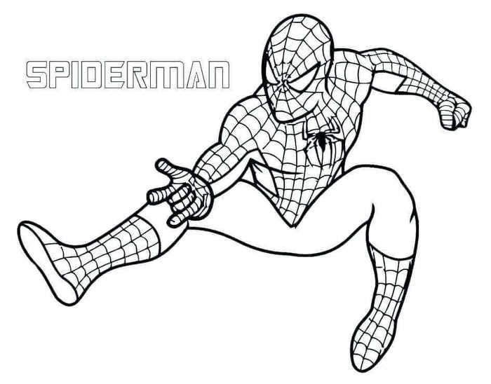 Spider Man Endgame Coloring Pages Trend