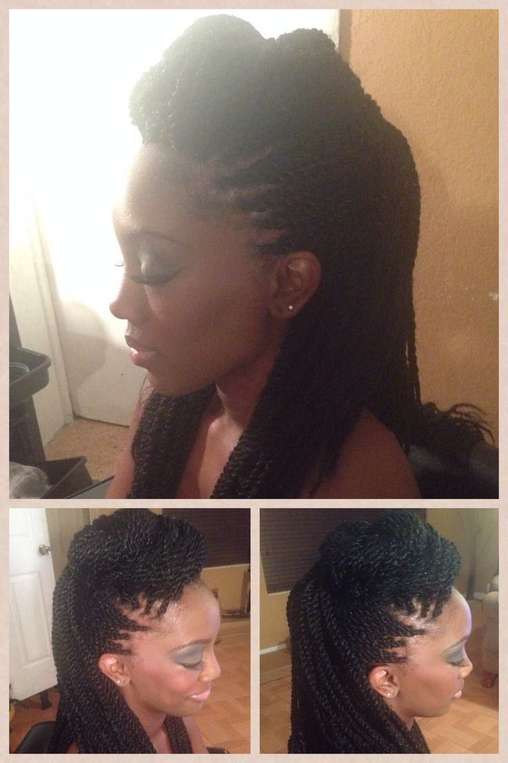 Protective style. Marley twist. Styled. #MyRootsRock