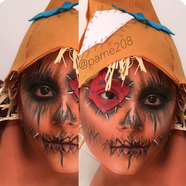 Scarecrow Child makeup tutorial