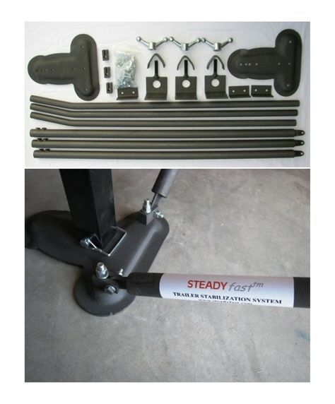 STEADYfast® Stabilizing System ~ Eliminates need for Tripod, Slide Out Jacks, and Between Wheel Chocks. Best Performing & Easiest to Use Parked Trailer Stabilizer. Works Great on Lippert Level-Up® and Ground ControlTM Systems. #steadyfast #hanscoment #movement #easy #rvlife #madeinthe usa #trailerlife #trailer #5thwheel #stoptheshaking #stopmotion #fifthwheels #happywifehappylife #camping #stabilizer #best #quality #Sandsod #stabilitybythesea #lifeisgood #bestperforming