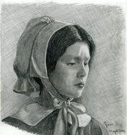 Helen Burns, Jane Eyre's school friend.
