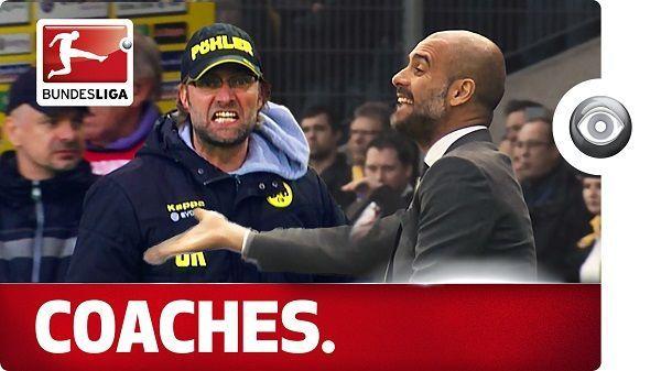Emocje dwóch wielkich trenerów piłkarskich • Jurgen Klopp i Josep Guardiola reagują jakby mieli zespół Tourette'a • Wejdź i zobacz >> #guardiola #klopp #bundesliga #football #soccer #sports #pilkanozna #funny