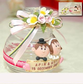 wedding souvenir inspiration - jar
