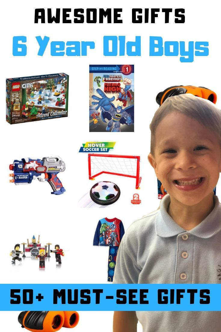 50 awesome christmas presents for 6 year old boys you