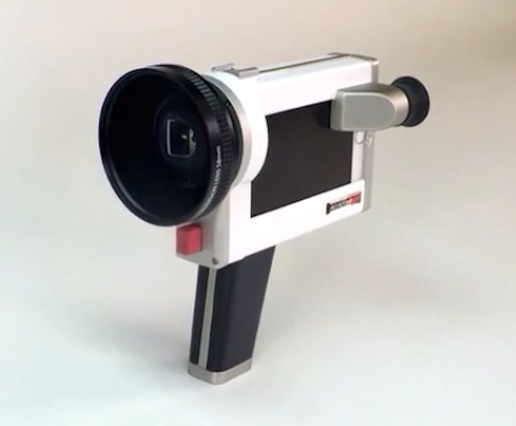 The Lumenati CS1 transforms your iPhone into a vintage looking video camera.  A group of filmmakers are raising funds via Kickstarter to fund the world's first cinematic smartcase that turns an iPhone 6 or 6 Plus into a vintage video camera.