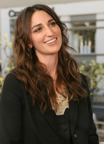 meet Sara Bareilles in Cali and attend her concert front row!!! :) me and jocelyn woot!