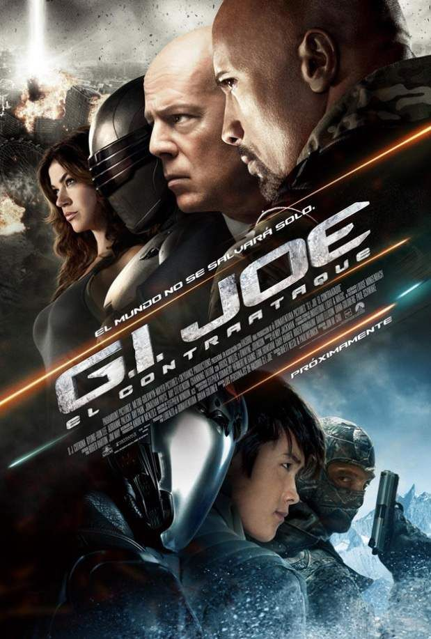 G.I. JOE: RETALIATION International Poster