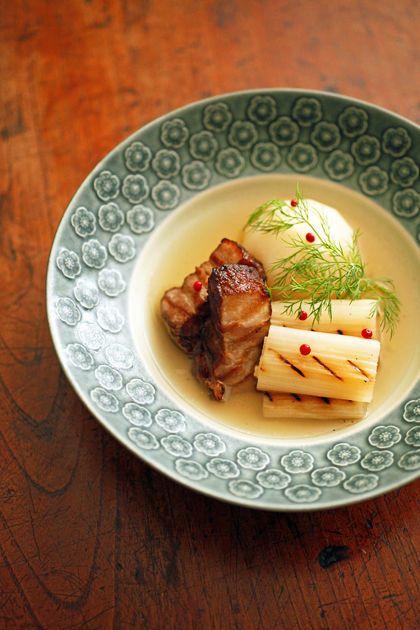 自家製ベーコンと根菜のポトフ:ポワブルロゼ