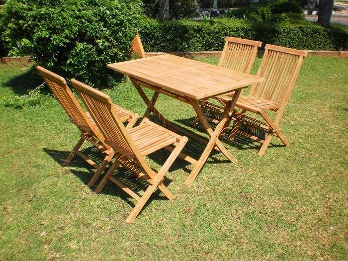 Jati Furniture Minimalis: KURSI DAN MEJA MAKAN GARDEN