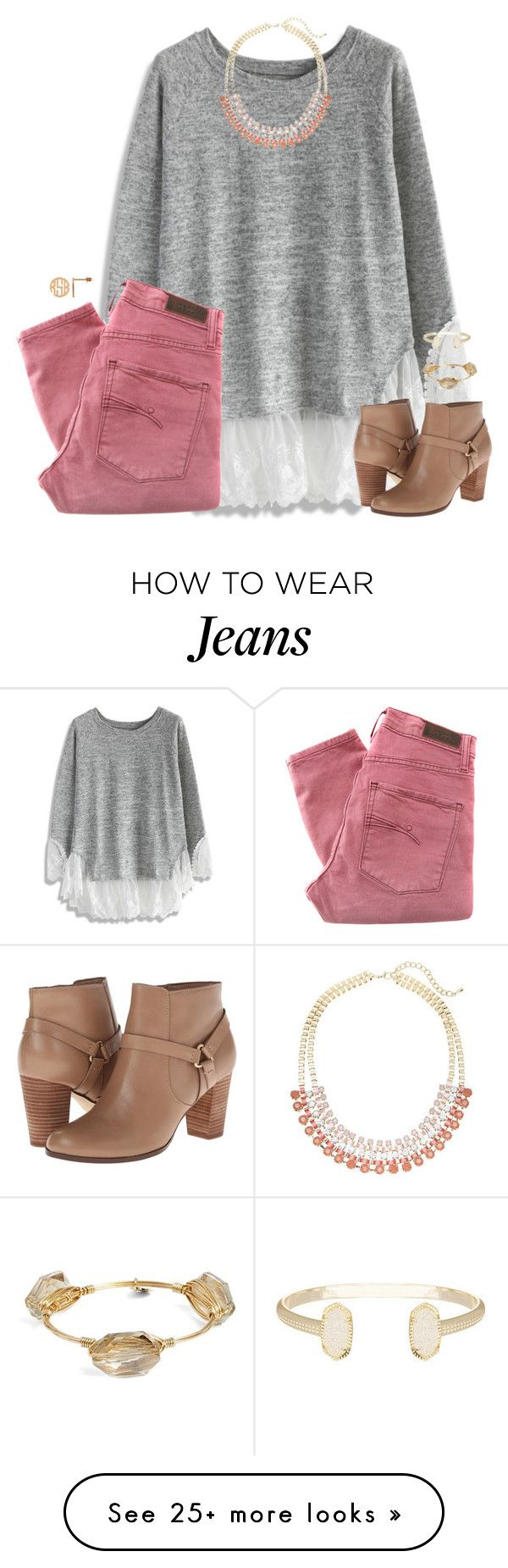 """""""people who can draw a star without having crossing lines in the middle really have their life together."""" by kaley-ii on Polyvore featuring Chicwish, Nobody Denim, Lane Bryant, Cole Haan, Bourbon and Boweties and Kendra Scott"""