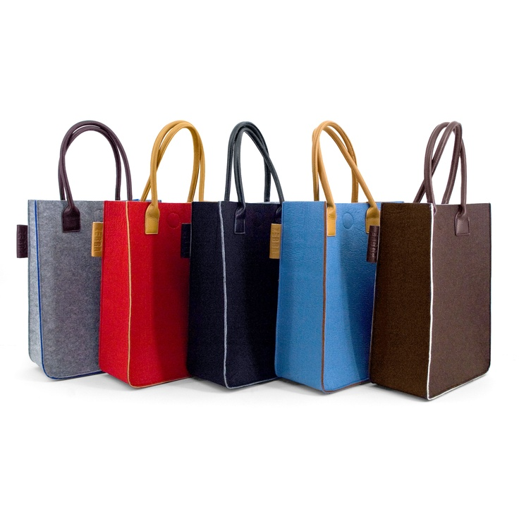 Natural bag vilt 2 color
