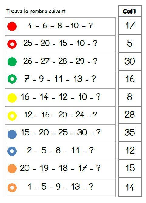 Logico - Mathématiques : Calcul
