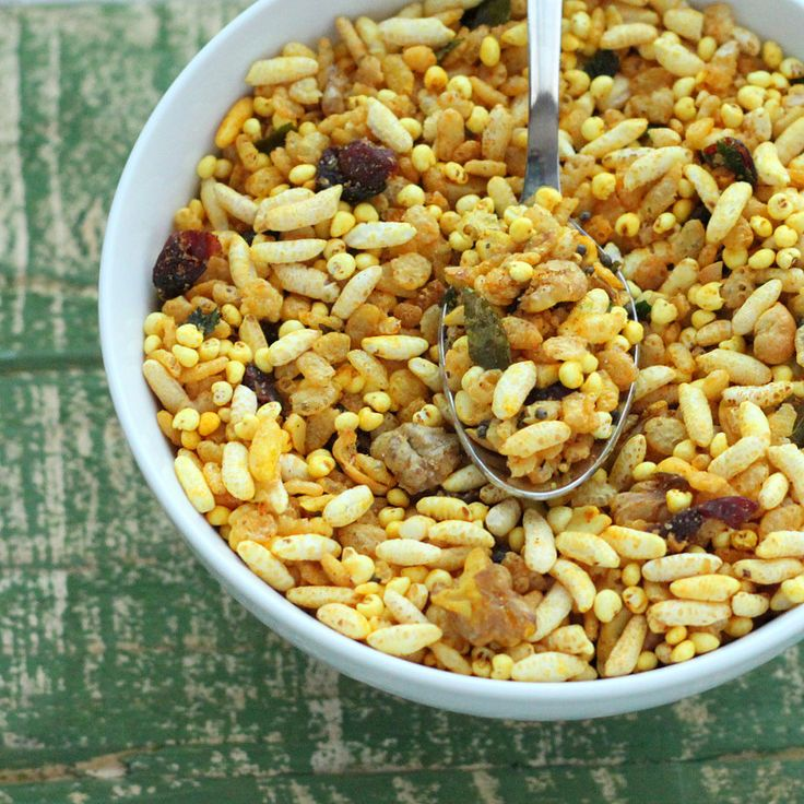 images of snack mix recipes | Quinoa Chivda - Savory Cereal/Trail Mix Snack with Puffed Quinoa ...
