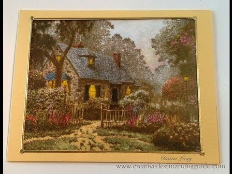Thomas Kinkade Stamp Tutorial PART 1 OF 2 - YouTube  See how to stamp this scene and get the look and feel of a Thomas Kinkade piece. Stamp from Cornish Heritage Farms For more ideas and inspiration visit Creative Destinations Guide