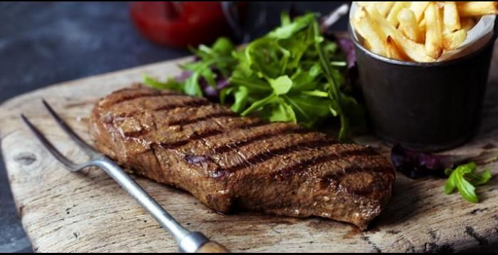 Marinated Denver Steaks
