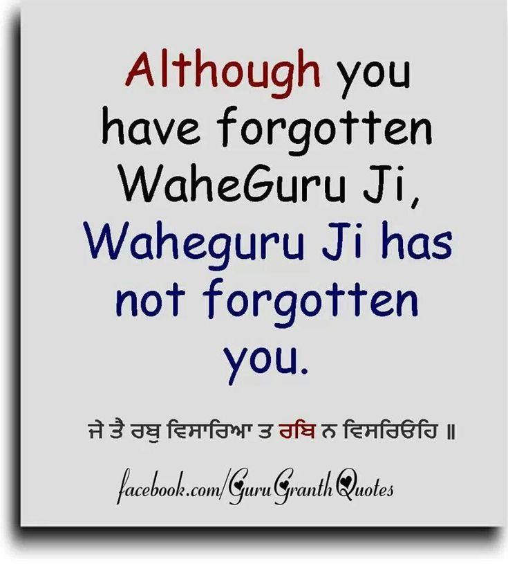 35 best Waheguru images on Pinterest | Punjabi quotes ...