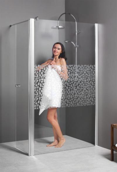 Breuer Entra Duschwand Alleinstehend mit beweglichem Element