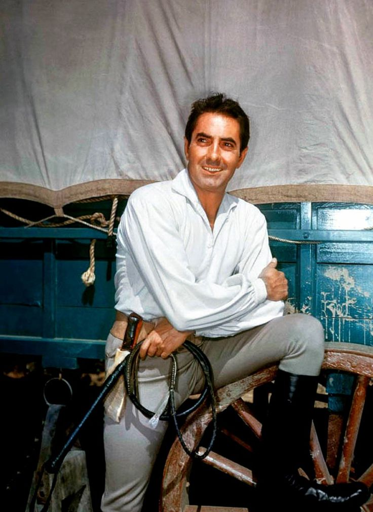Tyrone POWER, so handsome, love this photo of him.